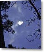 Wicked Moon Metal Print