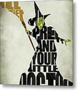 Wicked Witch Of The West Metal Print