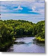Wide River Metal Print by Jason Brow