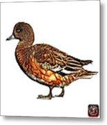 Wigeon Art - 7415 - Wb Metal Print