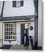 Wigmaker And Barber Shop Williamsburg Virginia Metal Print