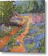 Wild And Blue Metal Print