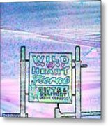 Wild At Heart Floral And Gifts Metal Print