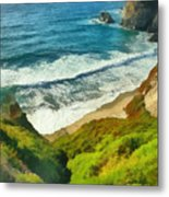 Wild Beach Metal Print
