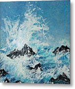 Wild Blue Too Metal Print