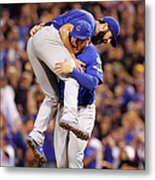 Wild Card Game - Chicago Cubs V Metal Print