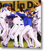 Wild Card Game - Oakland Athletics V Metal Print