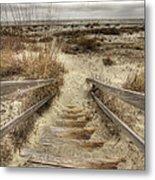 Wild Dunes Beach South Carolina Metal Print by Dustin K Ryan