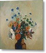 Wild Flowers Metal Print by Odilon Redon