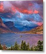 Wild Goose Island Overlook September Sunrise Metal Print