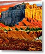 Wild Horse Butte Utah Metal Print