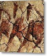 Wild Horses - Cave Art Metal Print