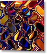 Wild Light Window Metal Print