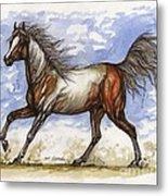 Wild Mustang Metal Print