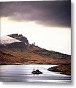 Wild Nature Landscape In Scotland, Isle Metal Print