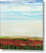 Wild Poppies Corbridge  Metal Print