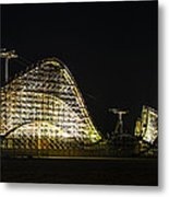 Wild Ride In Wildwood Metal Print