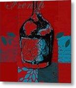 Wild Still Life - 0102b - Red Metal Print