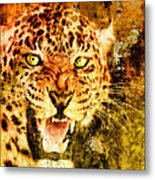 Wild Threat Metal Print