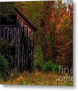 Wilderness Barn Metal Print