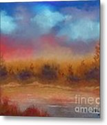 Wildfire Fire In The Sky Metal Print