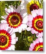 Wildflowerd Wide 1 Metal Print