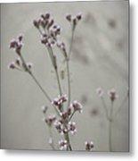 Wildflowers By The Lake Metal Print