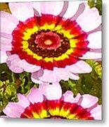 Wildflowers Tall Metal Print