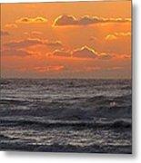 Wildwood Beach Just Before Dawn Metal Print