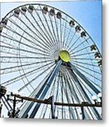 Wildwood Ferris Wheel Metal Print