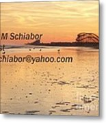 Wildwood Sunset Metal Print by Eric  Schiabor