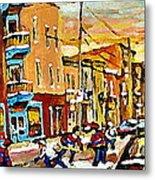 Wilenskys Hockey Paintings Montreal Commissions Originals Prints Contact Artist Carole Spandau  Metal Print