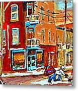Wilenskys Paintings Hockey Art Prints Originals Commissions Contact Popular Montreal Artist Cspandau Metal Print