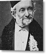Wilhelm Eduard Weber (1804-1891) Metal Print