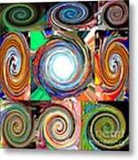 Will It Go 'round In Circles Metal Print
