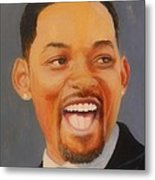 Will Smith Metal Print by Shirl Theis