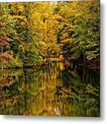 Willett Autumn Reflections Metal Print