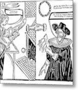 William Abell (c1584-1655) Metal Print