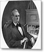 William Almon Wheeler (1819-1887) Metal Print