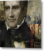 William Henry Harrison Metal Print by Corporate Art Task Force