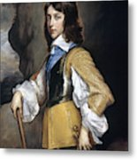 William II (1626-1650) Metal Print