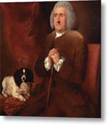 William Lowndes - A Auditor Of His Majesty's Court Of Exchequer  Metal Print