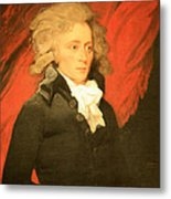 William Vans Murray By Mather Brown Metal Print