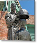 Williams And The Boy Metal Print by Barbara McDevitt