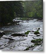 Williams River Rain Downpour Metal Print