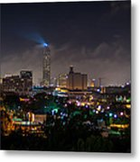 Williams Tower Beacon Metal Print