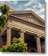 Williamson County Courthouse Metal Print