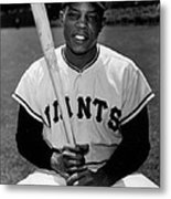 Willie Mays Metal Print by Gianfranco Weiss