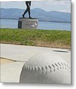 Willie Mccovey -- Giants 2014 World Champs Metal Print