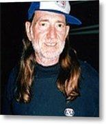 Willie Nelson 1988 Metal Print